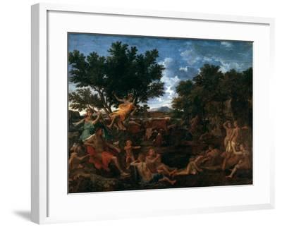 Apollo, Lover of Daphne, C1664-Nicolas Poussin-Framed Giclee Print