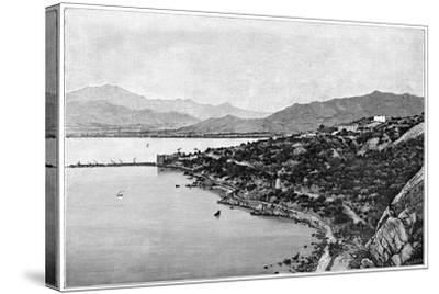 View of Stora Bay, C1890- Meunier-Stretched Canvas Print