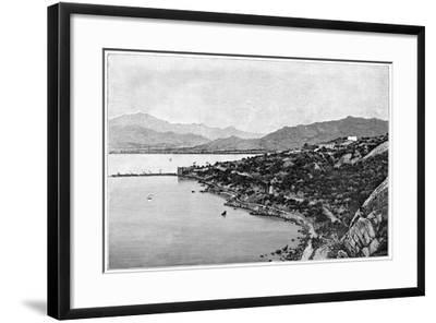 View of Stora Bay, C1890- Meunier-Framed Giclee Print