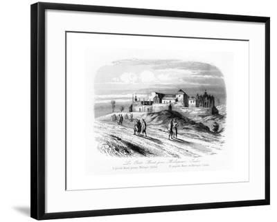 The Small Mount Near Meliapur, India, C1840-N Remond-Framed Giclee Print