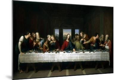 The Last Supper, 1803-Michael Kock-Mounted Giclee Print