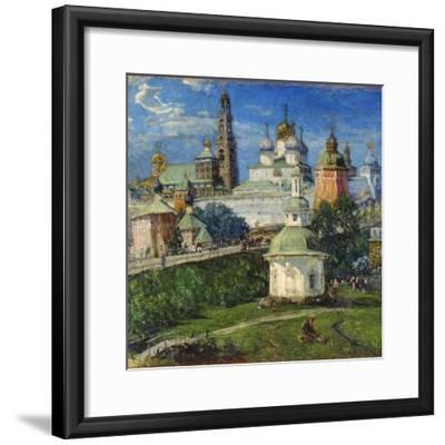The Trinity Lavra of St Sergius in Sergiyev Posad, 1910S-Michail Boskin-Framed Giclee Print