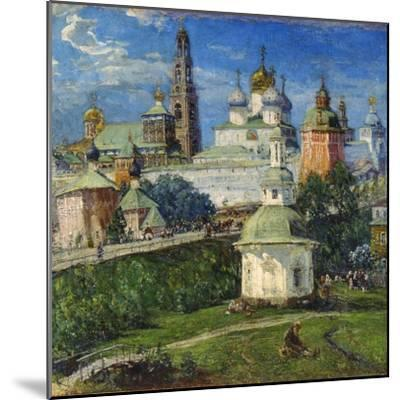 The Trinity Lavra of St Sergius in Sergiyev Posad, 1910S-Michail Boskin-Mounted Giclee Print