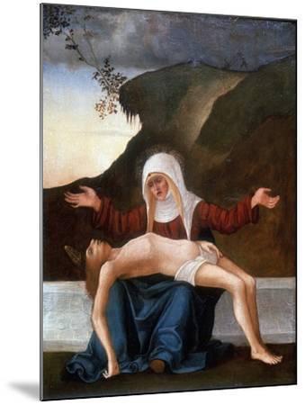 Pieta, Early 16th Century-Lodovico Mazzolini-Mounted Giclee Print
