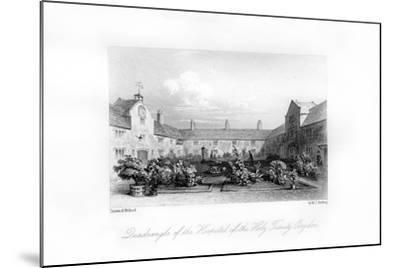 Hospital of the Holy Trinity, Croydon, 1840-MJ Starling-Mounted Giclee Print
