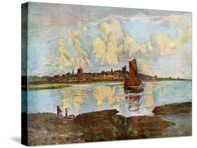Maldon, from Heybridge, Essex, 1924-1926-Louis Burleigh Bruhl-Stretched Canvas Print