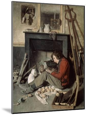 Studio Interior, 1845-Octave Tassaert-Mounted Giclee Print