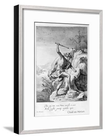 Alcyone and Ceyx Transformed into Birds, 1655-Michel de Marolles-Framed Giclee Print