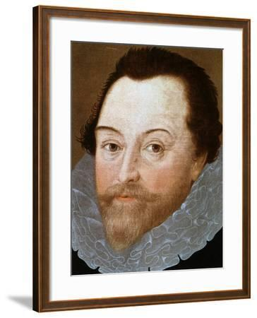 Sir Francis Drake, English Sailor, 1591-Marcus Gheeraerts The Younger-Framed Giclee Print