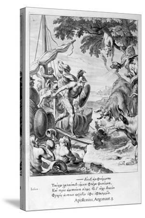 Jason and the Argonauts, 1655-Michel de Marolles-Stretched Canvas Print