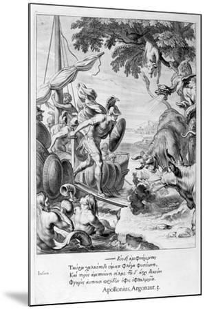 Jason and the Argonauts, 1655-Michel de Marolles-Mounted Giclee Print