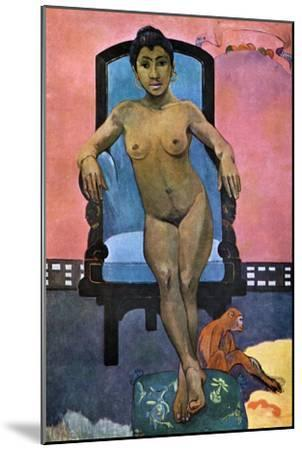 Aita Tamari Vahina Judith Te Parari' (Annah the Javanes), 1893-Paul Gauguin-Mounted Giclee Print