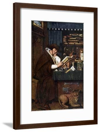 St Jerome, 15th Century-Petrus Christus-Framed Giclee Print