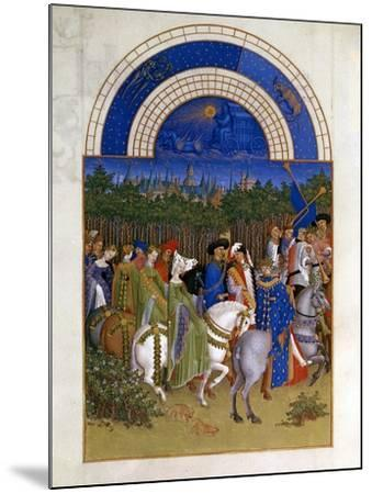 May, 1412-1416-Paul Limbourg-Mounted Giclee Print