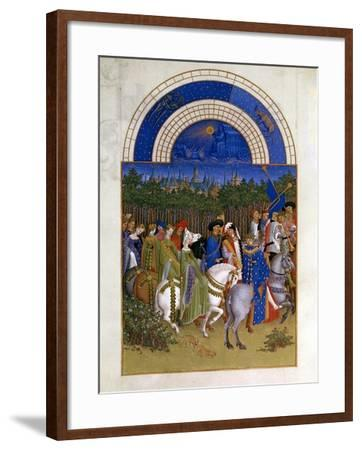 May, 1412-1416-Paul Limbourg-Framed Giclee Print