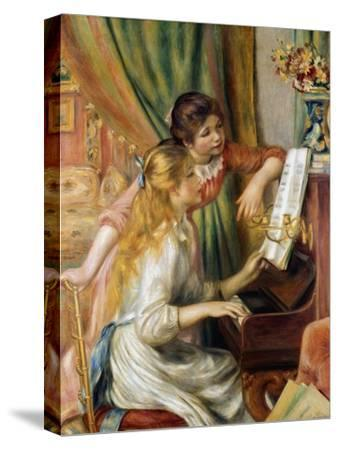 Young Girls at the Piano, 1892-Pierre-Auguste Renoir-Stretched Canvas Print