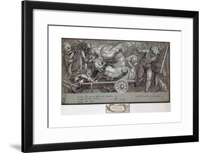The Punishment of Marsyas, C1573-Paolo Farinati-Framed Giclee Print