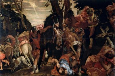 The Conversion of Saint Paul, C1570-Paolo Veronese-Framed Giclee Print