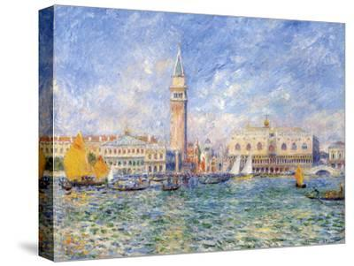 Venice, (The Doge's Palace), 1881-Pierre-Auguste Renoir-Stretched Canvas Print