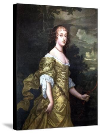 Portrait of Frances, Duchess of Richmond, C1662-1665-Peter Lely-Stretched Canvas Print