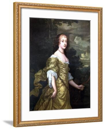 Portrait of Frances, Duchess of Richmond, C1662-1665-Peter Lely-Framed Giclee Print