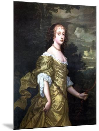 Portrait of Frances, Duchess of Richmond, C1662-1665-Peter Lely-Mounted Giclee Print
