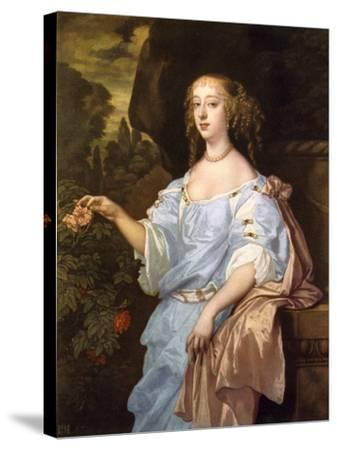Henrietta Boyle, Countess of Rochester, C1660S-Peter Lely-Stretched Canvas Print