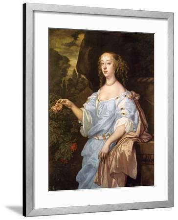 Henrietta Boyle, Countess of Rochester, C1660S-Peter Lely-Framed Giclee Print