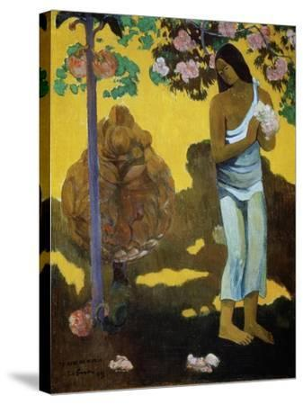 Te Avae No Maria (The Month of Mar), 1899-Paul Gauguin-Stretched Canvas Print