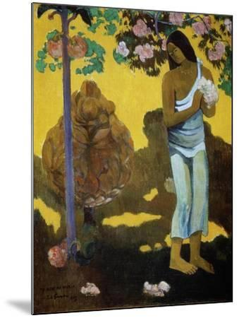 Te Avae No Maria (The Month of Mar), 1899-Paul Gauguin-Mounted Giclee Print