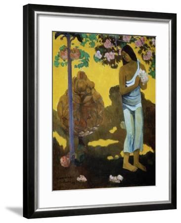 Te Avae No Maria (The Month of Mar), 1899-Paul Gauguin-Framed Giclee Print