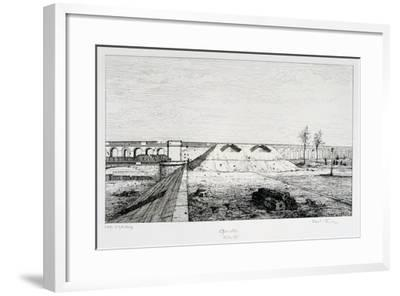 Grenelle, Siege of Paris, 1870-1871-Paul Roux-Framed Giclee Print