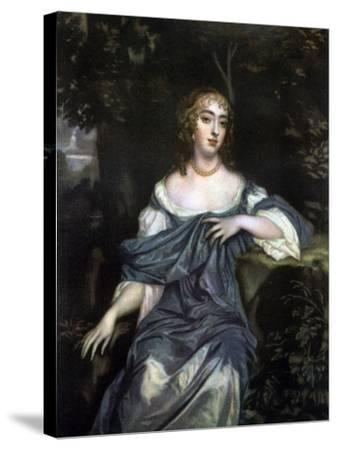 Frances Brooke, Lady Whitmore, Late 17th Century-Peter Lely-Stretched Canvas Print