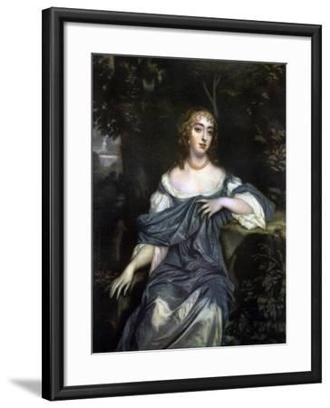 Frances Brooke, Lady Whitmore, Late 17th Century-Peter Lely-Framed Giclee Print