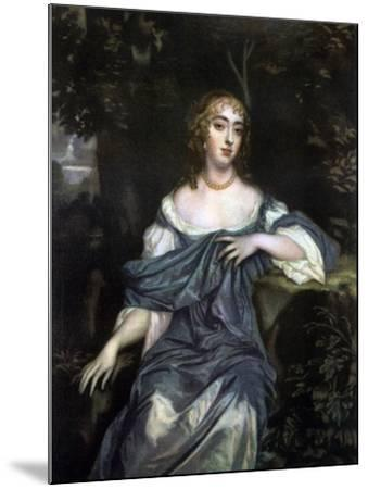 Frances Brooke, Lady Whitmore, Late 17th Century-Peter Lely-Mounted Giclee Print