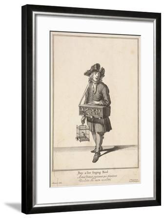 Buy a Fine Singing Bird, Cries of London-Pierce Tempest-Framed Giclee Print