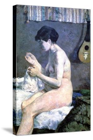 Study of a Nude, 1880-Paul Gauguin-Stretched Canvas Print
