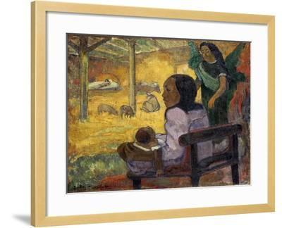 Be Be (Christma), 1896-Paul Gauguin-Framed Giclee Print