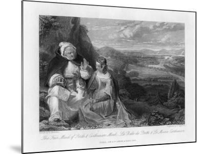 The Fair Maid of Perth and Carthusian Monk, 1845-Peter Lightfoot-Mounted Giclee Print