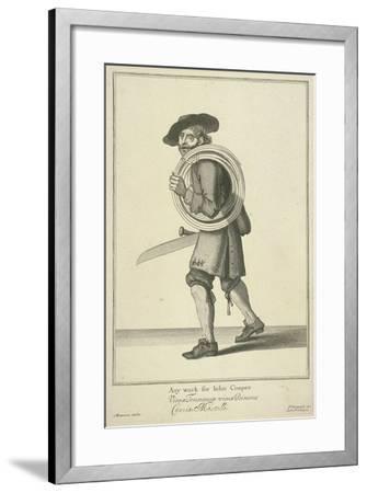 Any Work for John Cooper, Cries of London-Pierce Tempest-Framed Giclee Print