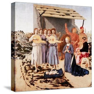 The Nativity, 1470-1475-Piero della Francesca-Stretched Canvas Print