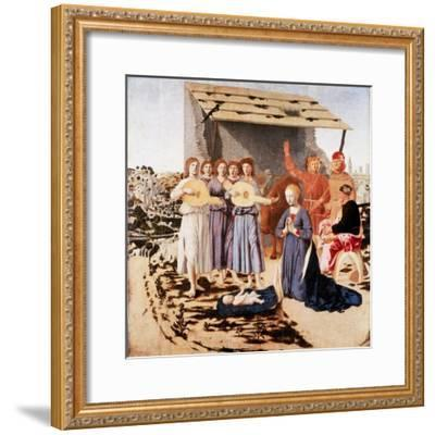 The Nativity, 1470-1475-Piero della Francesca-Framed Giclee Print