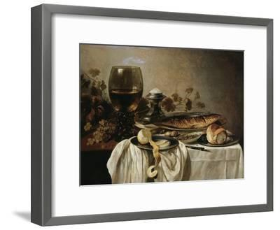 Breakfast, 1646-Pieter Claesz-Framed Giclee Print