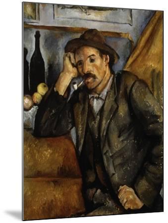 A Smoker, 1890-1892-Paul C?zanne-Mounted Giclee Print