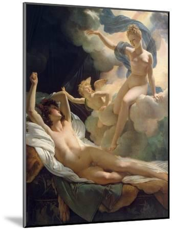 Morpheus and Iris, 1811-Pierre Narcisse Guerin-Mounted Giclee Print