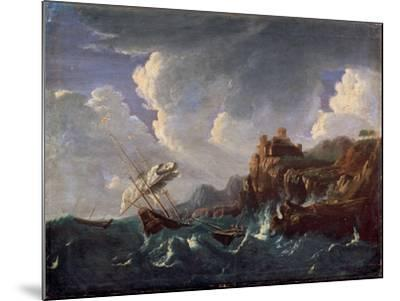 Stormy Sea, 17th Century-Pieter Mulier the Younger-Mounted Giclee Print