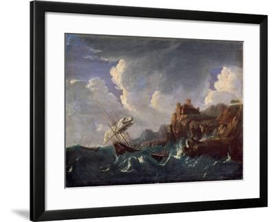 Stormy Sea, 17th Century-Pieter Mulier the Younger-Framed Giclee Print