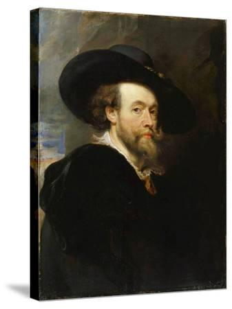 Self-Portrait, 1623-Peter Paul Rubens-Stretched Canvas Print