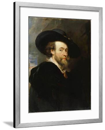 Self-Portrait, 1623-Peter Paul Rubens-Framed Giclee Print