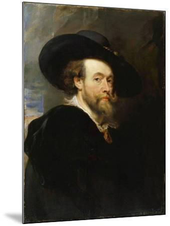 Self-Portrait, 1623-Peter Paul Rubens-Mounted Giclee Print